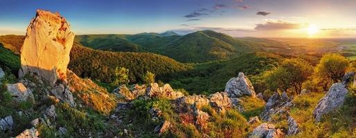 panorama de montaña