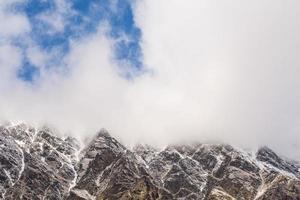 pico de la montaña