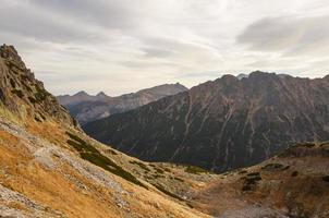 vista delle montagne