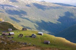 cabaña de montaña