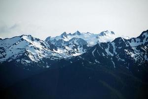 Olympic Mountains USA photo
