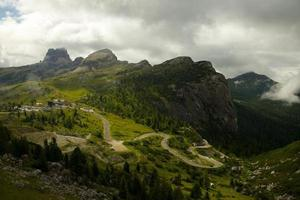 Mountains pass photo