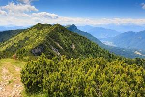 panorama de la montaña, italia foto