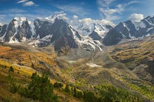 montañas de altai