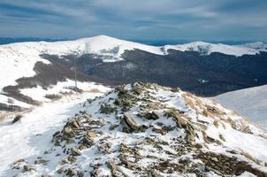 montaña bieszczady foto