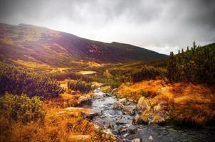 montañas de tatra en primavera, polonia. montañas altas