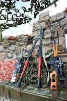 militantes de la montaña de la armería