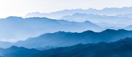 Layers of mountain photo
