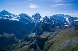 montañas en suiza