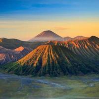 montanha do vulcão bromo