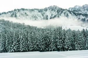 montanha de neve yuzawa