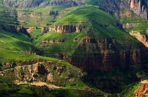 Shahdag mountains