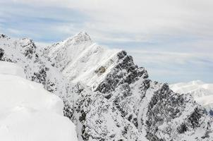 El pico krywan (krivan) es visitado a menudo por turistas.