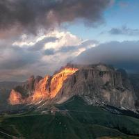 Sella group mountain photo