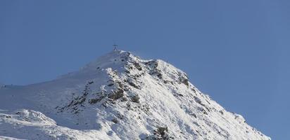 Peak with cross
