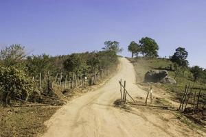 Views of the mountains and mountain roads. Loei,Thailand. photo