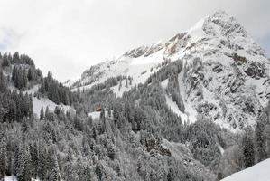 escena alpina, austria