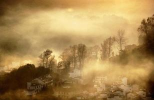 The gloaming mountain village photo
