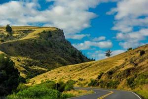 road through the mountains
