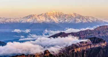 Minya Konka snow mountain