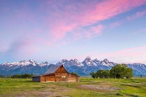 Grand Teton Mountains, Wyoming. photo