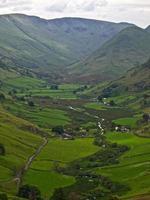 Ullswater Mountains, Lake District photo