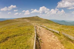 Polonina Carynska. Bieszczady Mountains.