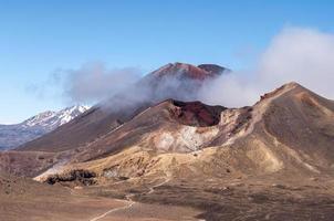panorama del monte ngauruhoe