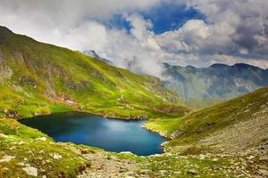 Lake Capra in Romania