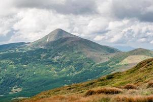 The highest Ukrainian mountain Hoverla photo