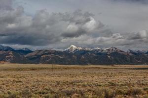 Nubes de tormenta sobre la Cordillera Sangre de Cristo foto