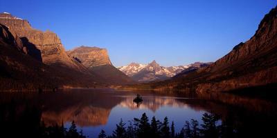 parque nacional glaciar del lago saint mary foto