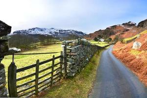 Back road from Chapel Stile to Elterwater. photo