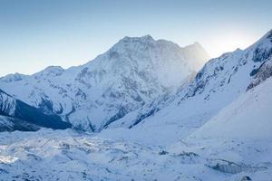 Cordillera del Himalaya foto