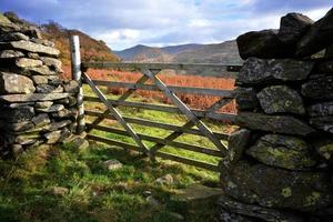 Faaarm Gate on Red Screes