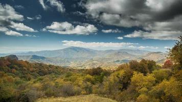 valle de georgia, montañas