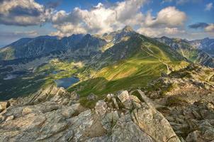 hoge Tatra-bergen