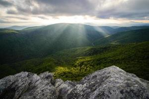 Linville  Gorge Sun Rays photo
