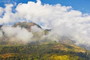 Mountains in Sri Lanka