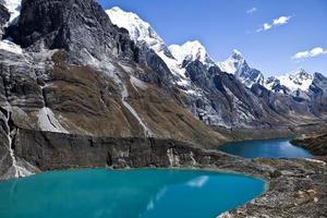 lake and mountains range
