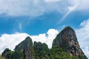 montaña krabi en tailandia