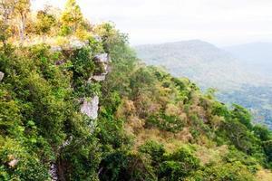 Cliff of mountain Thailand photo