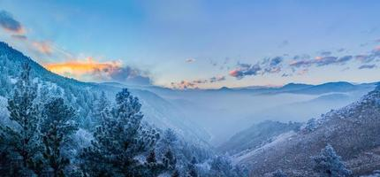 Fog in the Valley, Fire in the Sky photo
