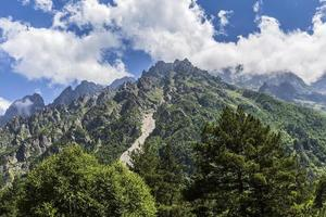Tseyskoe gorge. Mountains