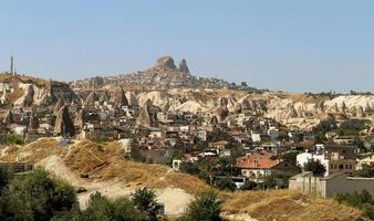 mountains in Cappadocia Turkey photo