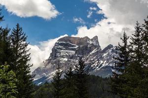 Pelmo mountain in Dolomites photo