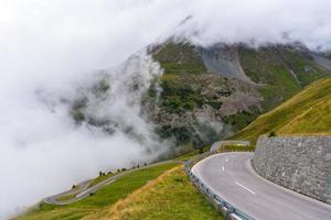 la carretera alpina de grossglockner