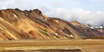 Landmannalaugar, Iceland photo