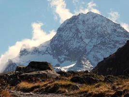 Mountain Piz Buin in Vorarlberg photo