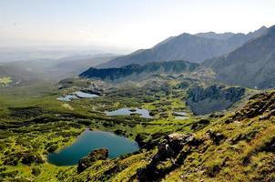 montanhas maravilhosas da europa central